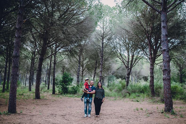 Fotografia de familia en Cádiz