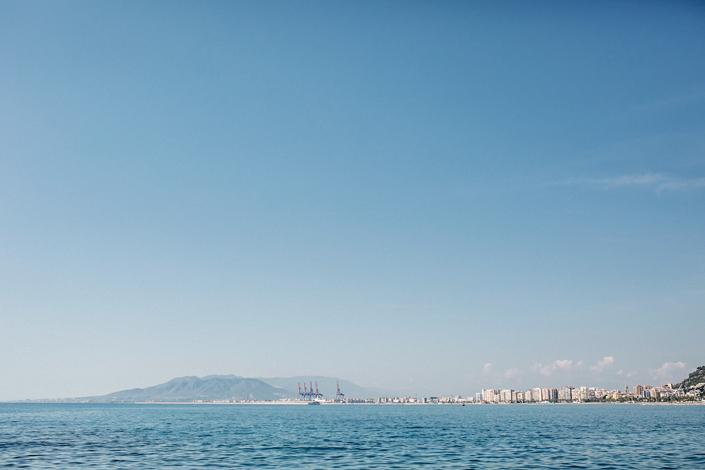 Boda en los Baños del Carmen de Málaga