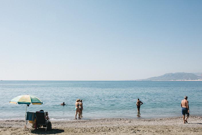 Boda en la playa Balneario de nuestra señora del Carmen de Málaga