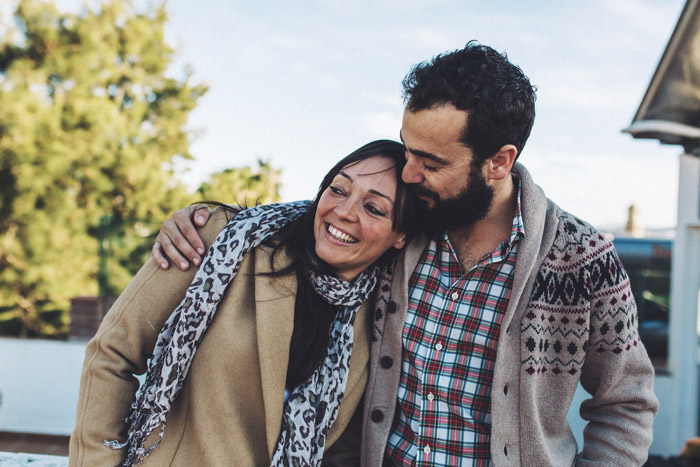 Sesión de fotos de pareja en Cádiz