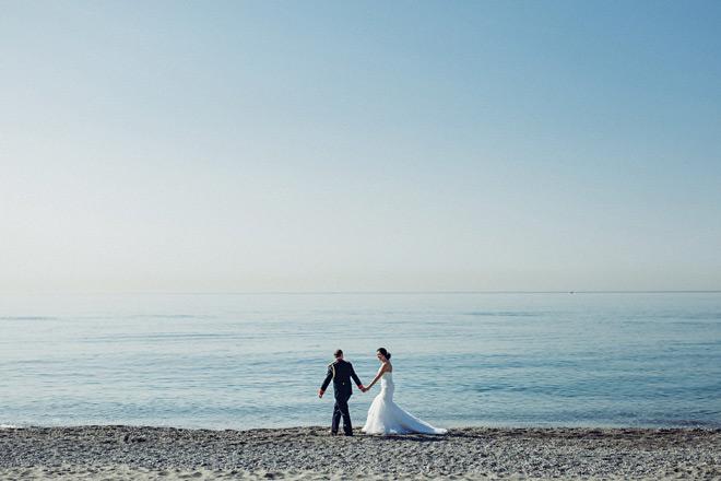 Fotos de boda la playa de en La Alcaidesa