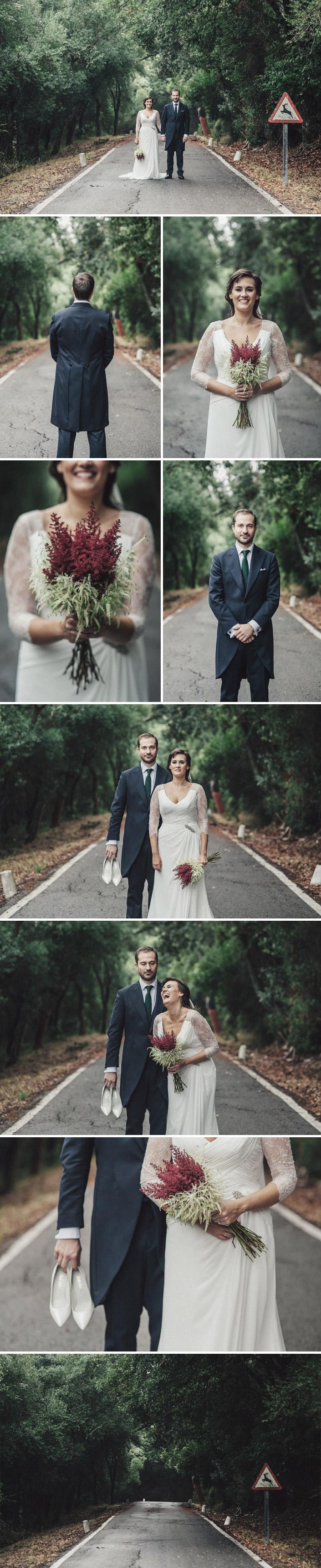 Fotos de boda en La Almoraima en Cádiz