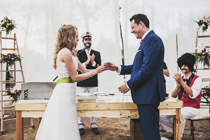 Fotos de boda civil en Madrid