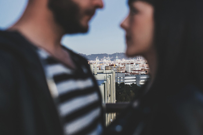 Fotos de boda en Algeciras en una azotea