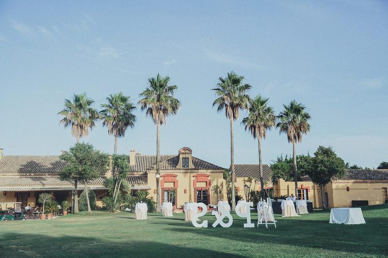 Fotografos de boda en San Roque Club